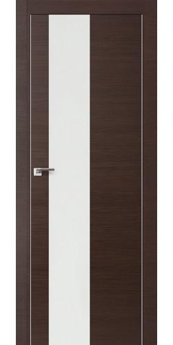 Межкомнатная дверь экошпон 5Z венге кроскут белый лак