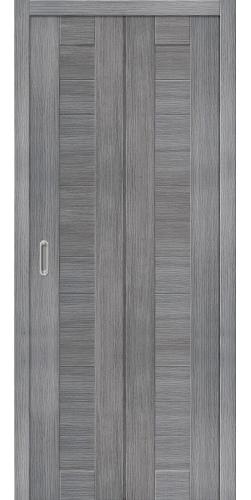 Дверь экошпон Порта 21 ПC grey veralinga