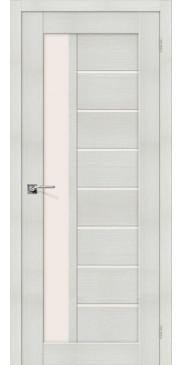 Дверь экошпон Порта-27 ПО Bianco Veralinga