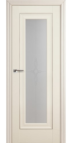Межкомнатная дверь экошпон 24Х белый ясень