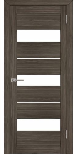 Дверь межкомнатная Uberture 2126 со стеклом экошпон цвет графит