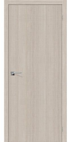 Межкомнатная дверь экошпон Порта 50 ПГ Cappuccino Crosscut