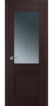 Дверь Профиль дорс 2U тёмно-коричневый