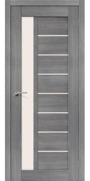 Дверь экошпон Порта-27 ПО Grey Veralinga