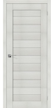 Дверь экошпон Порта 21 ПГ Bianco veralinga