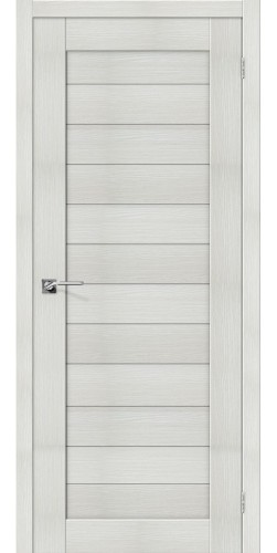 Дверь межкомнатная экошпон глухая Порта 21 цвет Bianco veralinga