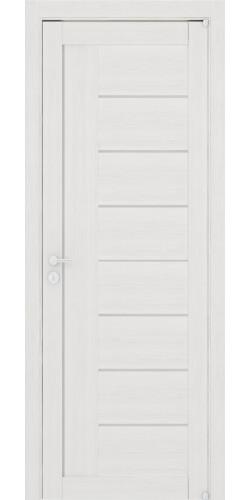 Дверь межкомнатная Uberture 2110 со стеклом экошпон цвет капучино велюр