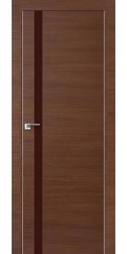 Межкомнатная дверь экошпон 6Z малага черри коричневый лак