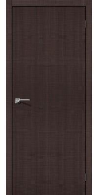 Дверь экошпон Порта 50 ПГ Wenge Crosscut