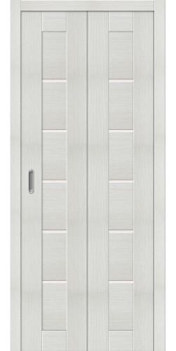 Межкомнатная дверь экошпон Порта 22 ДС bianco veralinga