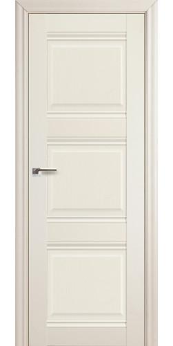 Дверь межкомнатная экошпон глухая 3Х цвет белый ясень