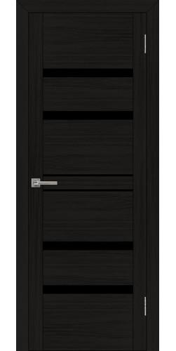 Дверь межкомнатная Uberture 30030 со стеклом экошпон цвет шоко велюр