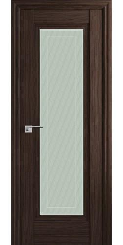 Межкомнатная дверь экошпон со стеклом 85Х натвуд натинга
