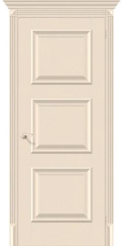 Дверь межкомнатная экошпон глухая Классико-16 цвет Ivory