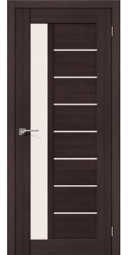 Дверь экошпон Порта-27 ПО Wenge Veralinga