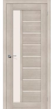 Дверь экошпон Порта-27 ПО Cappuccino Veralinga