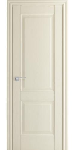 Межкомнатная дверь экошпон 91Х ПГ белый ясень