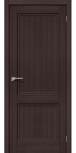 Межкомнатная дверь экошпон Порта 62 ПГ Wenge Veralinga