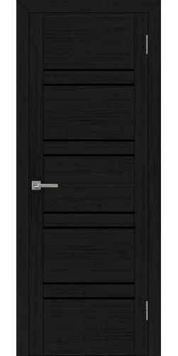 Дверь межкомнатная Uberture 30026 со стеклом экошпон цвет шоко велюр