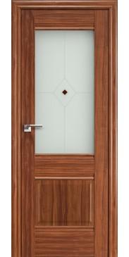 Дверь Профиль дорс 2 Х ПО орех-амари