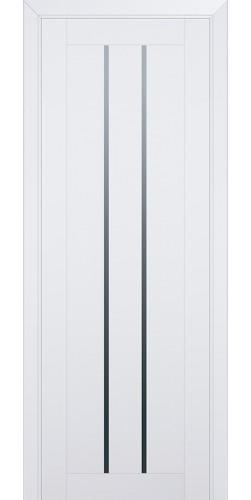 Межкомнатная дверь экошпон со стеклом 49U аляска