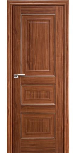 Дверь межкомнатная экошпон глухая 25Х цвет орех амари