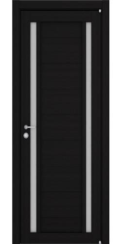 Дверь межкомнатная Uberture 2122 со стеклом экошпон цвет шоко велюр