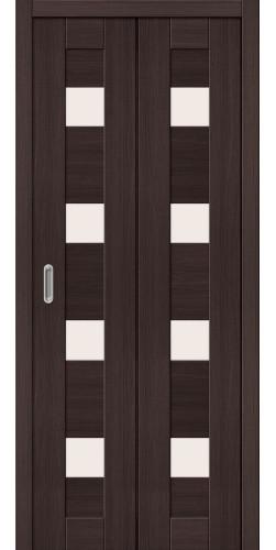 Межкомнатная дверь экошпон Порта 23 ДС wenge veralinga