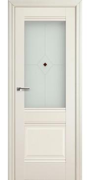 Дверь Профиль дорс 2 Х ПО белый ясень