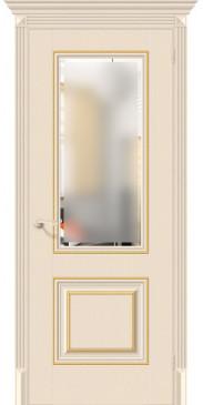 Дверь экошпон Классико-33G-27 ПО Ivory