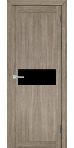 Межкомнатная дверь экошпон Uberture 30001 серый велюр