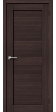 Дверь экошпон Порта 21 ПГ Wenge veralinga