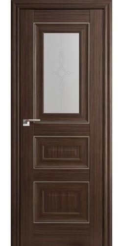 Межкомнатная дверь экошпон 26Х натвуд натинга
