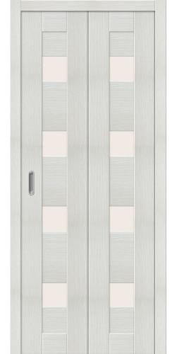 Межкомнатная дверь экошпон Порта 23 ДС bianco veralinga