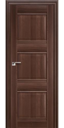 Дверь межкомнатная экошпон глухая 3Х цвет орех сиена