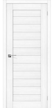 Дверь экошпон Порта 21 ПГ Snow Veralinga