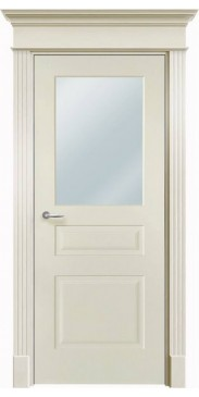 Дверь эмалированная Нафта 3 ДО белый