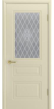 Дверь эмаль Трио Грейс ДО слоновая кость