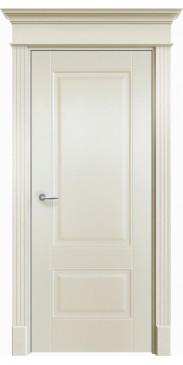 Дверь эмалированная Оксфорд 2 ДГ белый