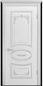 Дверь эмаль Ария B3 Грейс ДГ белый