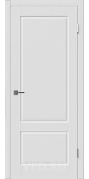 Эмалированная дверь Шеффилд ДГ белый