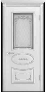 Дверь эмаль Ария B3 Грейс ДО белый