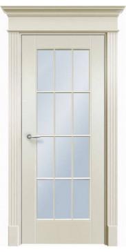 Дверь эмалированная Оксфорд ДО белый