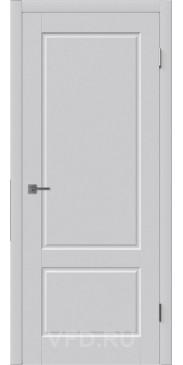 Эмалированная дверь Шеффилд ДГ светло серый