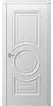 Дверь эмаль Богема ДГ Белая