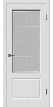 Эмалированная дверь Шеффилд ДО белый