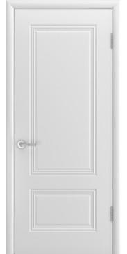 Дверь эмаль Аккорд Грейс ДГ белый