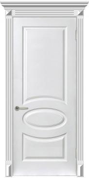Дверь эмаль Мадрид ДГ белый