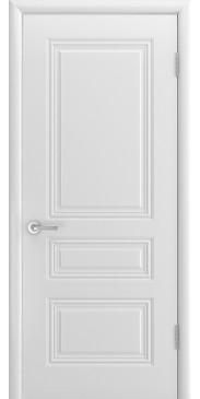 Дверь эмаль Трио Грейс ДГ белый