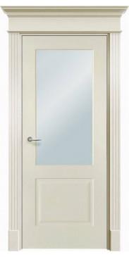 Дверь эмалированная Нафта 2 ДО белый